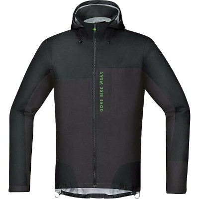 ゴアウェア メンズ 自転車 アウター【Power Trail GTX Active Jacket】Black / Raven Brown