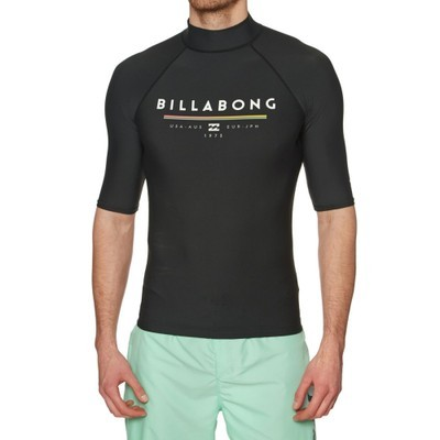 ビラボン ラッシュガード Billabong Unity Short Sleeve Rash Vest Black