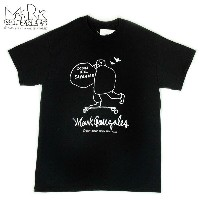 """MARK GONZALES """" DOWN HILL """" S/S Tee / BLACK #VINTAGE WASH"""