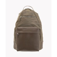 【Theory】Nylon Smooth Lther Backpack 【30%OFF】異素材をバランス良く切り替えたバックパック。 ベージュ 大人 セオリー