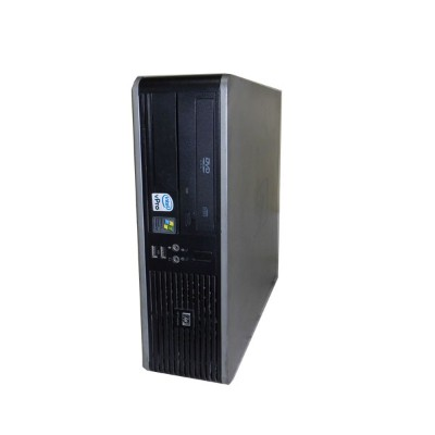 外観難あり 中古パソコン WindowsXP HP dc7800p SFF GC758AV Core2Duo E6550 2.33GHz/768MB/80GB/DVD-ROM