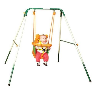 Sportspower For Baby Folding Toddler Indoor & Outdoor Swing Set by Sportspower