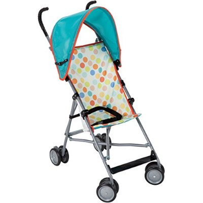 Cosco Umbrella Stroller with Canopy, Dots by Cosco