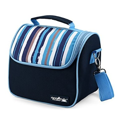 Goldwheat Insulated Lunch Bag Cooler Lunch Tote Lunch Box with 2 Removable Liners and Shoulder...