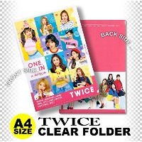TWICE クリア フォルダー / ファイル B ver. (Clear Folder / File) [A4 SIZE] グッズ