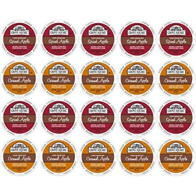 20-count Single Serve Cups for Keurig K-Cup Brewers Grove Square Apple Cider Variety Pack Featuring...