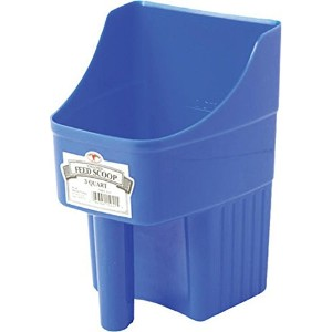 Little Giant 3-Quart Enclosed Feed Scoop, Blue by Little Giant Outdoor Living
