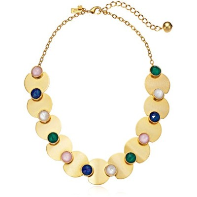 Kate Spade New York Womens Sunshine Stonesクルーネックレス One Size