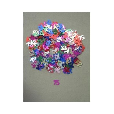 75 Confetti, Multi-Color, 10 mm size, 1/2 oz bag (qty 1 bag) by Dragonfly Alley