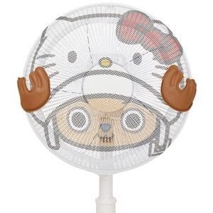 ONE PIECE × HELLO KITTY チョッパー 扇風機カバー (30cm羽根用)