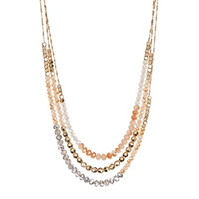 Amrita Singh Eileenネックレス(champagne-silver)