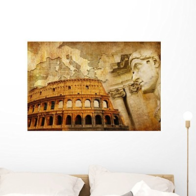"GREAT ROMAN EMPIREコンセプト壁壁画by Wallmonkeys Peel and Stickグラフィックwm362175 36""W x 24""H - Large FOT..."