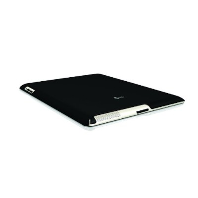 macally BLACK SNAP-ON CASE For iPad 2nd Generation