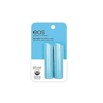 EOS LIP BALM BLUEBERRY ACAI(2PACK)