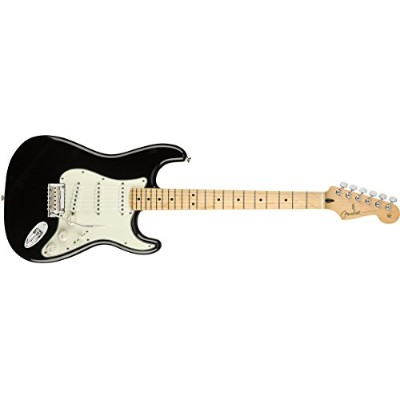 Fender エレキギター Player Stratocaster®, Maple Fingerboard, Black