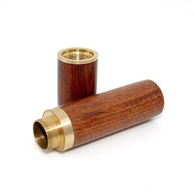 (Light Brown) - Vecent Portable Wood Toothpick Holder Mini Toothpick box Pocket Toothpick Holder ...