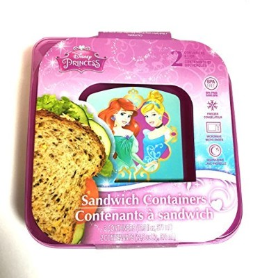 Disney Princess Sandwich Containers by Disney Princess