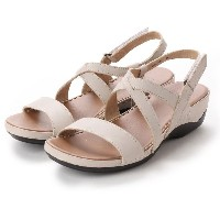 ドクター ショール Dr.Scholl Scholl Comfort Crossed Belt Sandals (Beige) レディース