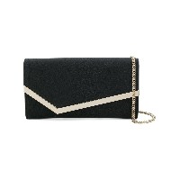 Jimmy Choo Emmie clutch - ブラック