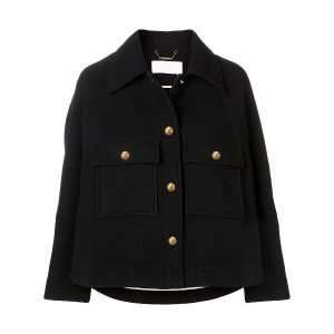 Chloé cropped jacket - ブラック