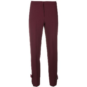 Blumarine high-waisted cropped trousers - ピンク