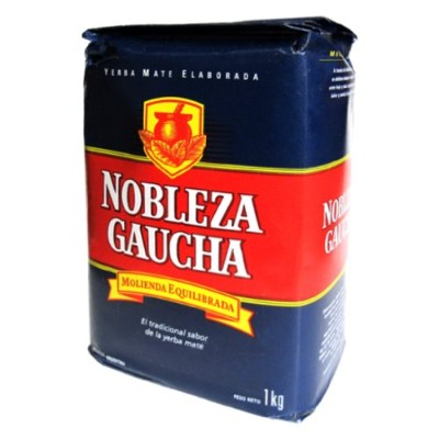 Yerba Mate Tea Nobleza Gaucha - One 2.2 LBs Bag by Nobleza Gaucha