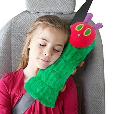 The Very Hungry Caterpillar by Eric Carle Adjustable Plush Seat Belt Pillow by Eric Carle