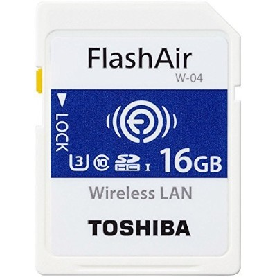 Toshiba Flashair w-04?16?GB SDHCクラス10メモリカード