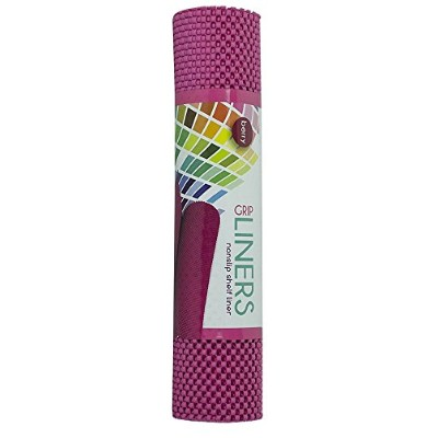 (Berry Red) - Grip Liner Non Slip Shelf Liners 30cm x 150cm Rolls Choice of Lovely Colours Cut To...