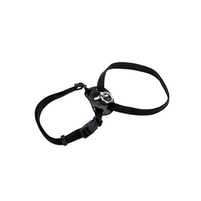 Coastal Pet - Adjustable Harness Black 12-18 Girth with a Width of 3/8 in. by Coastal Pet