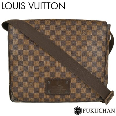【LOUIS VUITTON/ルイ・ヴィトン】ダミエ・エベヌ ブルックリンMM N51211 【中古】≪送料無料≫