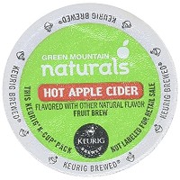 Green Mountain Naturals ~ HOT APPLE CIDER ~ 24 K-Cups for Keurig Brewers by Green Mountain Coffee