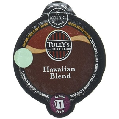 Tully's Hawaiian Blend Keurig K-Carafe Pack, 8 Count by Tully's Coffee