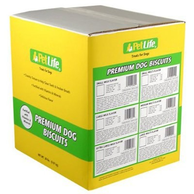 SUNSHINE MILLS 417230 Pet Life Medium Variety Biscuits for Dogs, 20-Pound by Sunshine Mills