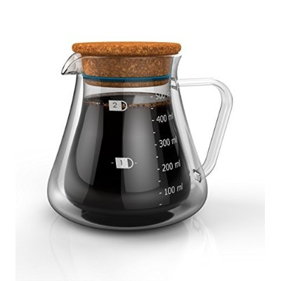 Bolio二重壁断熱サーバー–Keep Your Drink Hot While It Brews–プロフェッショナルBarista Grade–Great for Making...