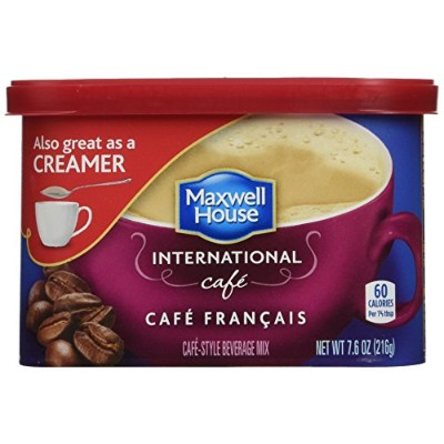 Maxwell House International Cafe Francais Cafe (433320) 7.6 oz (Pack of 8) by Maxwell House