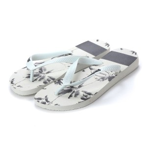【SALE 20%OFF】ハワイアナス havaianas TOP STRIPES LOGO (kids sizes) (white/black)