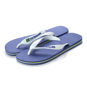 【SALE 20%OFF】ハワイアナス havaianas BRASIL LOGO (kids sizes) (marine blue)