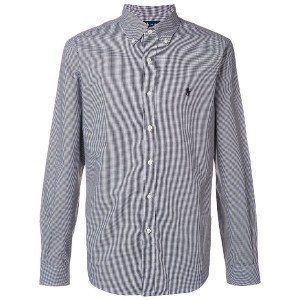 Polo Ralph Lauren checked buttondown shirt - ブラック