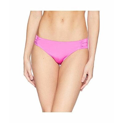 トリーナ ターク レディース 水着 Studio Solids Shirred Side Hipster Bikini Bottom