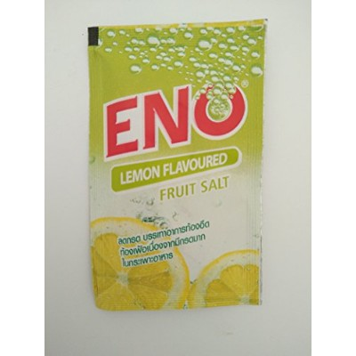 30 Sachets x Eno LEMON flavour Fruit Salt Regular Antacid Powder Baking Soda for Indigestion,...
