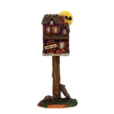 Lemax Spooky Town Collection Full Moon Birdhouse 74216