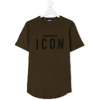 Dsquared2 Kids ICON プリント Tシャツ - グリーン