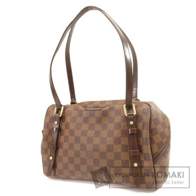 LOUIS VUITTON N41158 リヴィントンGM トートバッグ ダミエキャンバス レディース 【中古】【ルイ・ヴィトン】