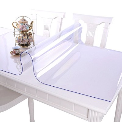 (27.5x55 Inch(70x140cm), Clear/1.5mm) - MAGILONA Homen Tablecover Waterproof PVC Protector for...