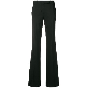 Etro side stripe flared trousers - ブラック