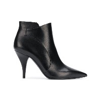 Casadei pointed ankle boots - ブラック