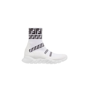 Fendi slip-on sock sneakers - ホワイト