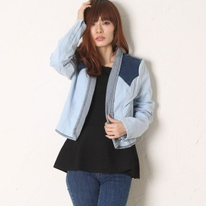 【SALE 78%OFF】ゲス GUESS PATCHED DENIM JACKET (CORELL WASH)
