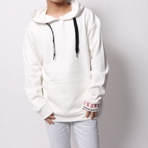 【SALE 30%OFF】ゲス GUESS STREET PULLOVER PARKA (IVORY)